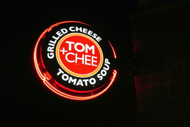 OKC Sign Company Sign Innovations installed this signage for Tom & Chee in OKC.