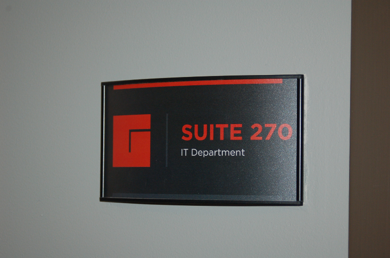 We are an interior signage supplier who looks forward to meeting your interior signage needs.
