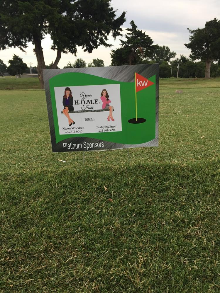 Golf Tournament Signs Okc Sign Innovations